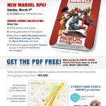 MARVEL Launch Party - Sunday, March 4th: Brooklyn!