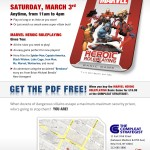 MARVEL Launch Party - Saturday, March 3rd: Manhattan!